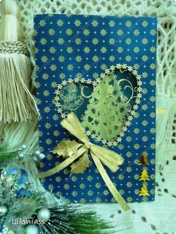Всем привет и масса наилучших предновогодних пожеланий. Сегодня я приглашаю вас в синюю новогоднюю ночь. Открываю серию открыток «Цвет новогодней ночи» В проекте пока красная, серебряная, лиловая, ванильная. Не знаю, смогу ли воплотить все в жизнь, но вот проект существует. Итак, принимайте. Синяя новогодняя ночь. фото 8