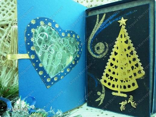 Всем привет и масса наилучших предновогодних пожеланий. Сегодня я приглашаю вас в синюю новогоднюю ночь. Открываю серию открыток «Цвет новогодней ночи» В проекте пока красная, серебряная, лиловая, ванильная. Не знаю, смогу ли воплотить все в жизнь, но вот проект существует. Итак, принимайте. Синяя новогодняя ночь. фото 9