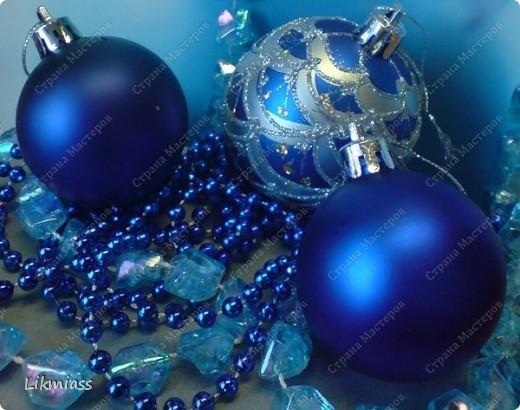 Всем привет и масса наилучших предновогодних пожеланий. Сегодня я приглашаю вас в синюю новогоднюю ночь. Открываю серию открыток «Цвет новогодней ночи» В проекте пока красная, серебряная, лиловая, ванильная. Не знаю, смогу ли воплотить все в жизнь, но вот проект существует. Итак, принимайте. Синяя новогодняя ночь. фото 15