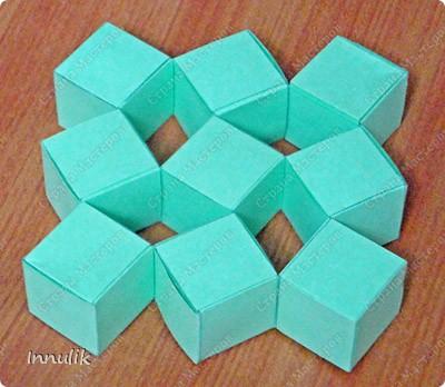Волшебные кубики из бумаги без клея и скотча