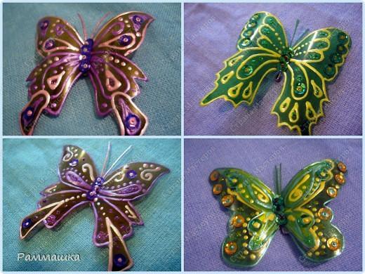 Бабочки на штору фото 1