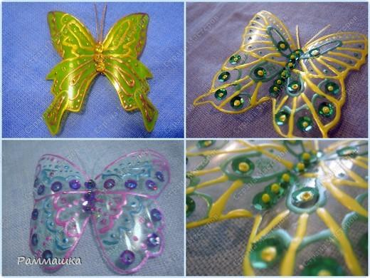 Бабочки на штору фото 2