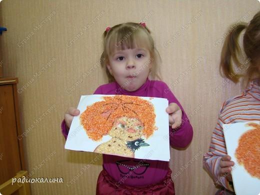 """Вот и наступил у """"Антошки """" день рождения и решили мы с ребятами подарить Антошке его портреты. Дима очень старательно выполнял задание и такой портрет у него получился. фото 4"""