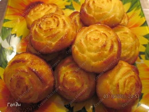 Апельсиновые кексы фото 2
