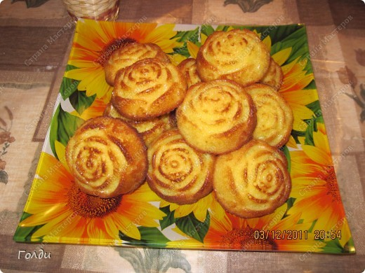 Апельсиновые кексы фото 1
