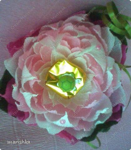 Свит дизайн цветок с конфетой
