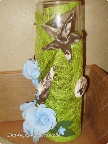 Ваза. Цветы из полимерной глины CLAYCRAFT by DECO.