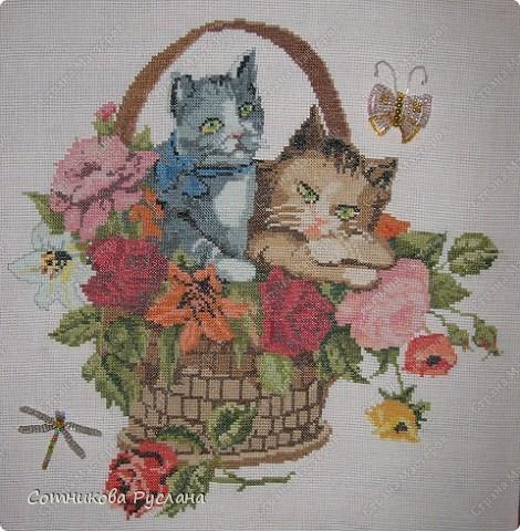 Вышивка крестом бабушкин сад
