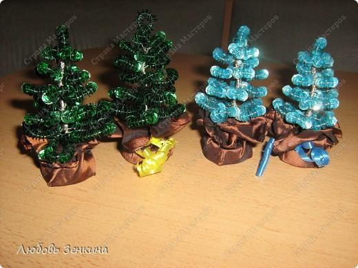 Предлагаю  к Новому году сделать сувениры своими руками, для этого нам понадобиться на 2 Ёлочки фото 6