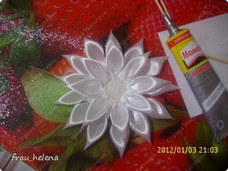Попробовала заснять процесс изготовления вот такой хризантемы . фото 12