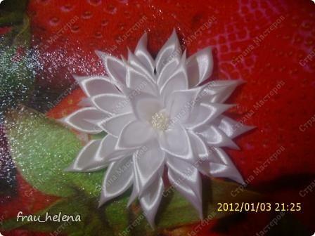 Попробовала заснять процесс изготовления вот такой хризантемы . фото 1