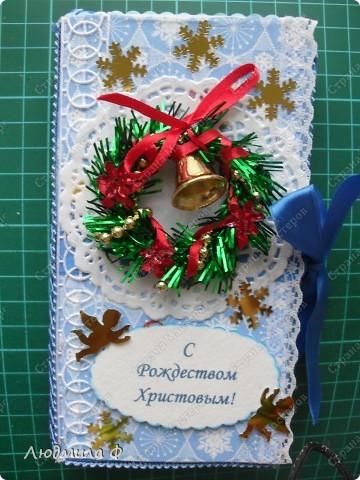 Открытки на английское рождество своими руками