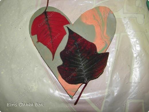 Вот такие сердечки у меня получились из гипса при помощи пластилиновых отпечатков. фото 8