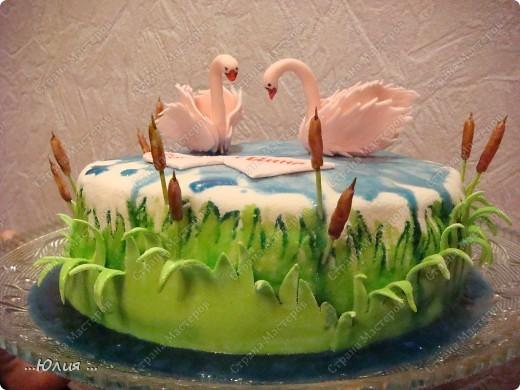 Рецепт торта лебединое озеро с фото