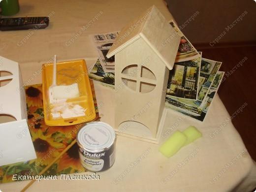 Вот такой домик для чая я сделала в подарок. Предлагаю Вам тоже попробовать сделать. Чудный подарок.  фото 4