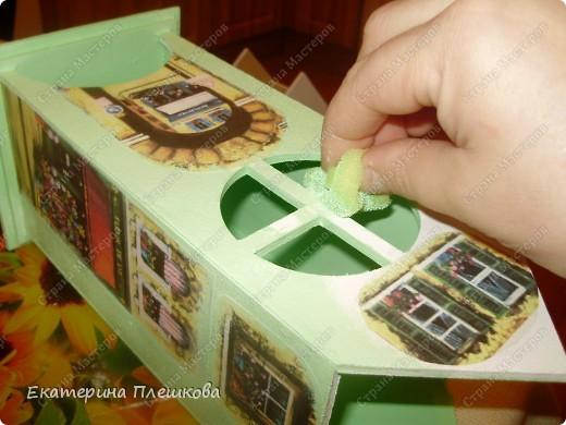 Вот такой домик для чая я сделала в подарок. Предлагаю Вам тоже попробовать сделать. Чудный подарок.  фото 16