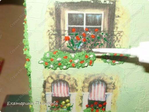 Вот такой домик для чая я сделала в подарок. Предлагаю Вам тоже попробовать сделать. Чудный подарок.  фото 27