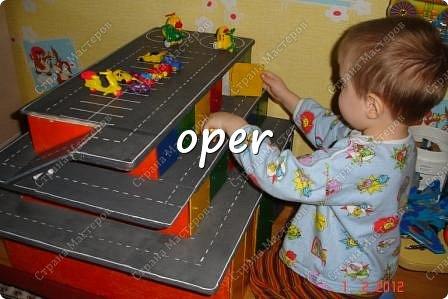 Гараж для ребенка своими руками фото