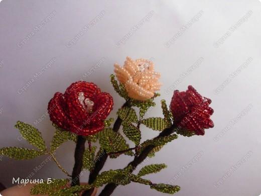 Розочки были сделаны в подарок любимой мамочке. фото 3