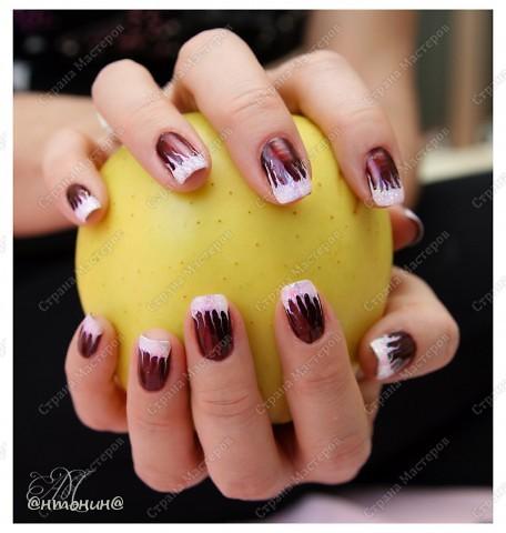 Украшение из проволоки и лака для ногтей мастер класс