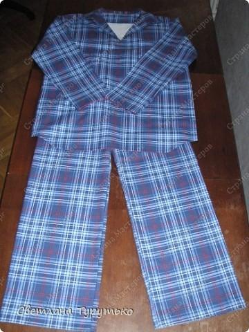 Пижамы для мальчиков своими руками
