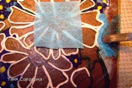 Мастер-класс Аппликация из скрученных жгутиков Картины в технике пейп-арт Мастер-класс Салфетки фото 8