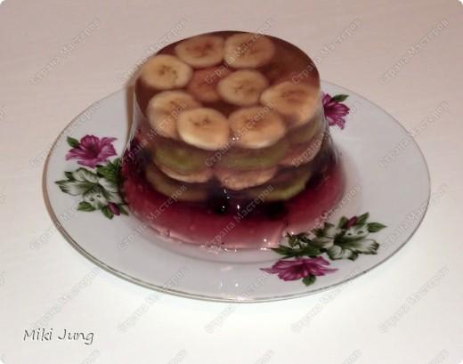 Желейный тортик фото 1
