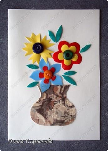 Своими руками открытка ко дню матери