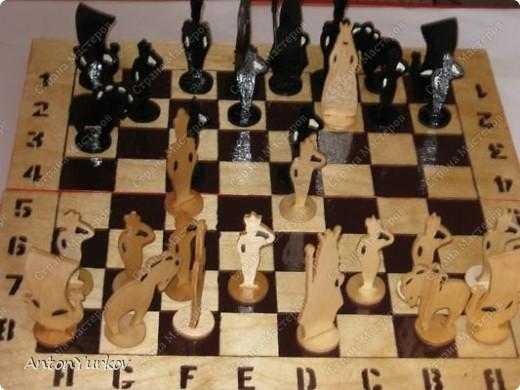 Как я делал шахматы