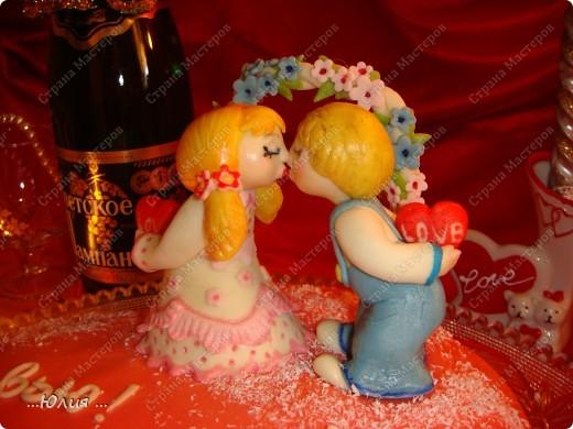 Здравствуйте дорогие мастерицы ! Поздравляю вас с днем любви !!! фото 2