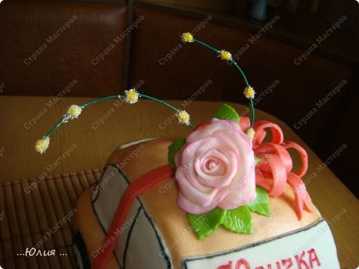 Всем привет!!! вот торт для 20 летней девушки и кстати такую точно ей подарили настоящую машину )))) представляете сколько у нее радости ))) настоящая и сладкая )))) фото 3
