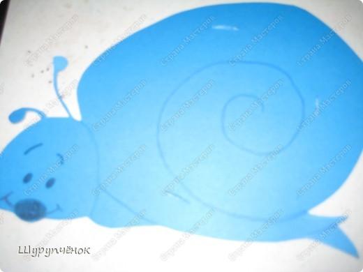 В нарисованной вырезанной заготовке-улитке делаем надрезы. фото 2