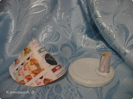 Вот такие домики- подсвечники и одновременно упаковка для подарков- шарфиков у меня получились фото 17