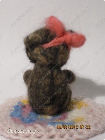 моя мишка Маша для мамы на 8 марта:) фото 4
