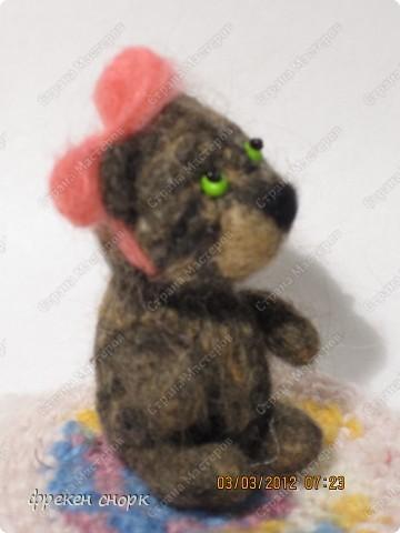 моя мишка Маша для мамы на 8 марта:) фото 3