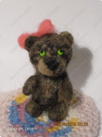 моя мишка Маша для мамы на 8 марта:) фото 1