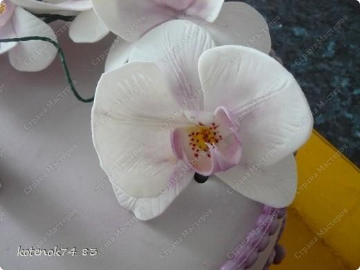 Давно хотела сделать орхидеи, но все время останавливало, что нет специальных вырубок и вайнеров. Цветы эти люблю очень, вот и победила сила красоты и на очереднои заказ предложила орхидеи) фото 10