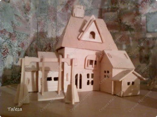 домик с качелями) фото 1