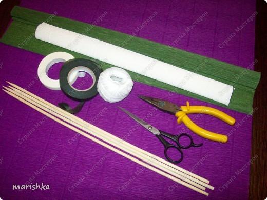 Мастер-класс Свит-дизайн Бумагопластика МК ирисы - часть1 Бумага гофрированная фото 2