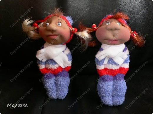 Это сестрички Маша и Даша. Сделаны они по МК ПартизАнки. фото 3