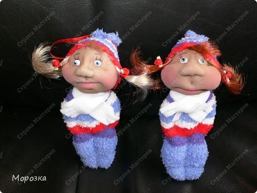 Это сестрички Маша и Даша. Сделаны они по МК ПартизАнки. фото 2