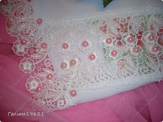 Очень красивый свадебный аксессуар фото 2