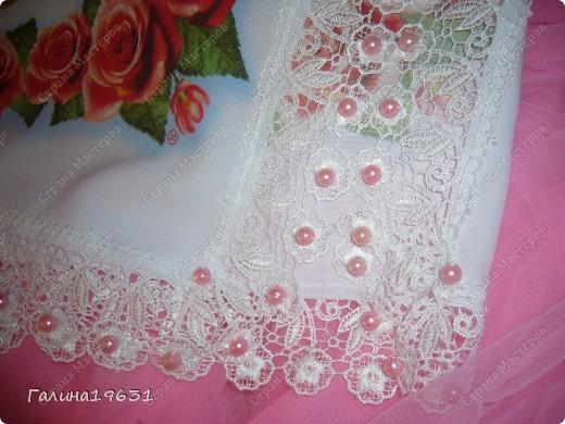 Очень красивый свадебный аксессуар фото 4