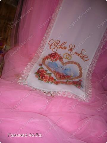 Очень красивый свадебный аксессуар фото 7
