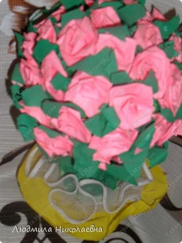 Деревце с розами фото 1