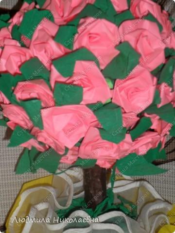 Деревце с розами фото 2