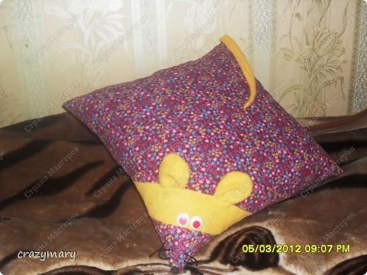 вот такая мышка будет подарена, только пока не знаю кому))) фото 1