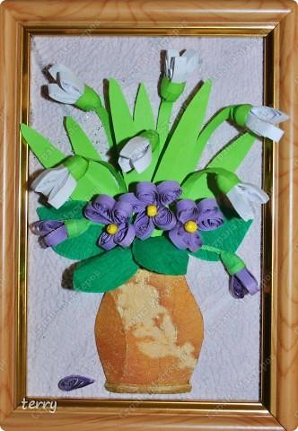 Прежде всего хочется поздравить всех жительниц Страны Мастеров с праздником!!! А вот и мои обещанные мини-картинки, сделанные как раз к 8 марта. Сегодня были подарены учителям. Надеюсь, что и Вам они подарят немножко радости и напомнят о приближении весны... фото 5