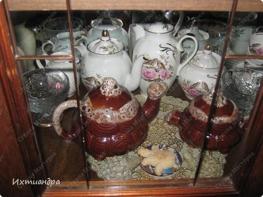 Я коллекционирую черепашек и захотелось сделать такую.... такую.... Ну чтобы ни у кого такой не было! :-)) И вот, представляю Вам черепашку Дуняшу - в стиле дымковской игрушки. Получилась нарядная, румяная и с косичкой - настоящая русская красавица! )) фото 15