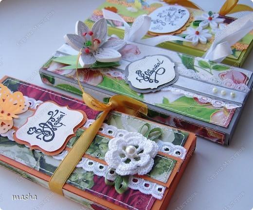 Вот такие сладкие подарочки сделала своим милым подружкам. фото 1